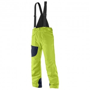 Spodnie Salomon CHILL OUT BIB PANT M ACID LIME 2017/18