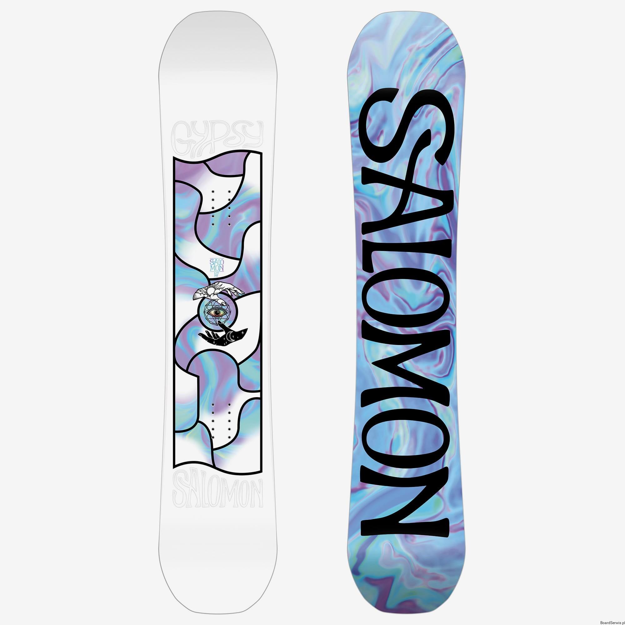 Deska snowboardowa Salomon GYPSY 201920