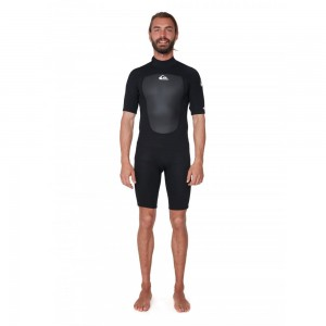 Pianka Quiksilver PROLOGUE BZ 2/2 short black 20