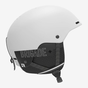 Kask Salomon BRIGADE+ white 2019/2020