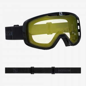 Gogle Salomon AKSIUM ACCESS black/yellow 2019/2020