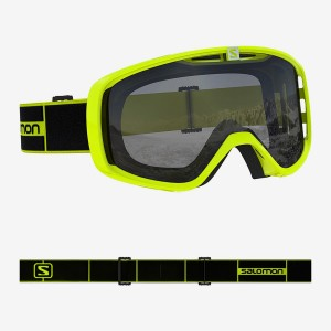 Gogle Salomon AKSIUM ACCESS neon yellow/uni silver 2019/2020