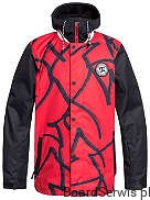 Kurtka DC DCLA  2019/20 Racing Red Hieroglyphic