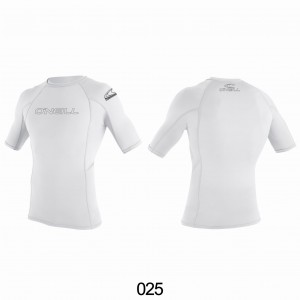 Lycra O'NEILL Rash Guard basic S/S white 2020