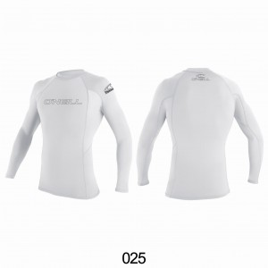 Lycra O'NEILL Rash Guard basic L/S white 2020