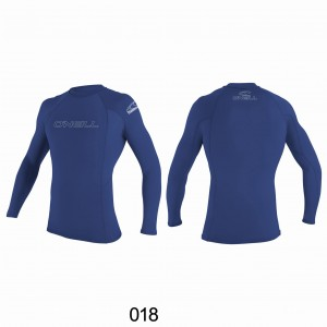 Lycra O'NEILL Rash Guard basic L/S pacific 2020