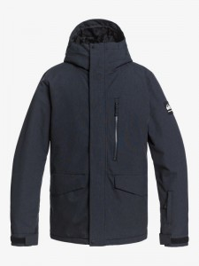 Kurtka Quiksilver MISSION SOLID  2020/21 Black