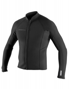 Jacket Męski  O'Neill Reactor-2 1,5 mm Front Zip black  (1)
