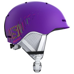 Kask SALOMON GROM Purple Mat 2018/2019